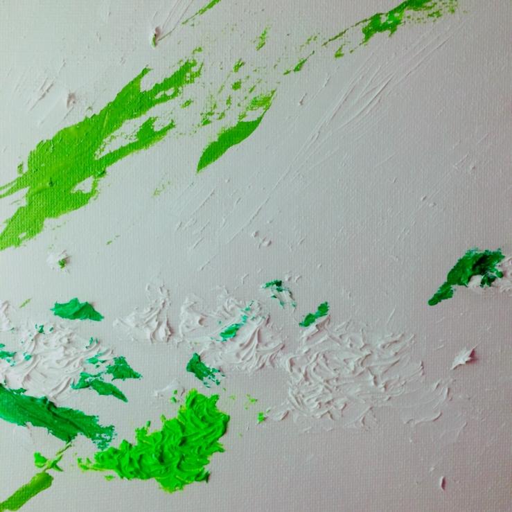 paint+textile color on carbon board #canva @vliujunyan